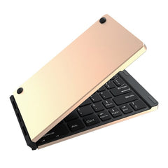 Universal Mini Folding Metal Bluetooth Keyboard