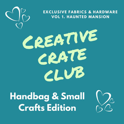 Creative Crate - Handbag and Small Crafts Edition