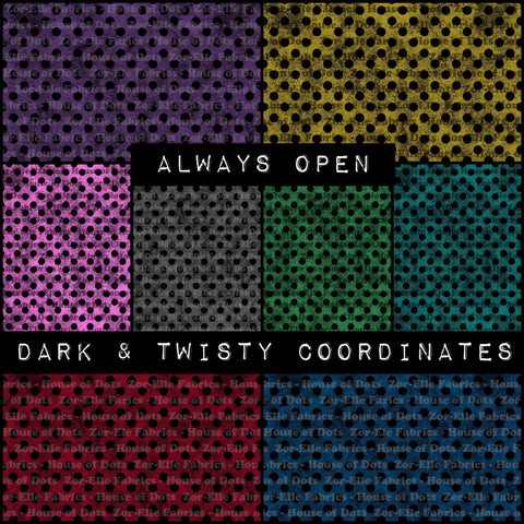 Dark & Twisty - Polka Dots