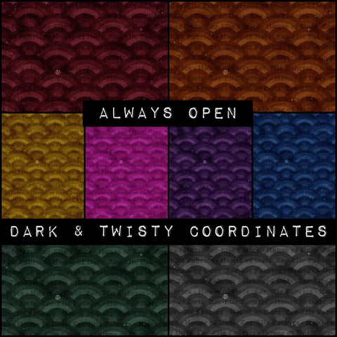 Dark & Twisty - Monochrome Rainbow