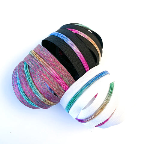 Hardware - Rainbow Nylon Zipper Tape #5
