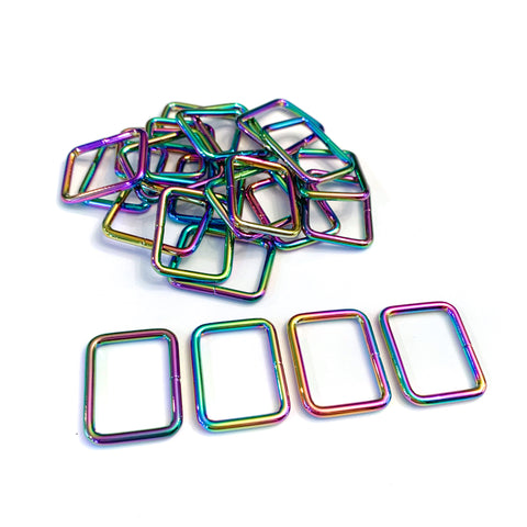 "Hardware - 1"" Rectangle Rings"
