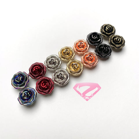 Hardware - Rose Chicago Screws (8mm)