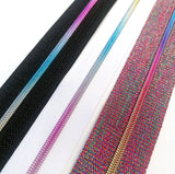 Hardware - Rainbow Nylon Zipper Tape #3