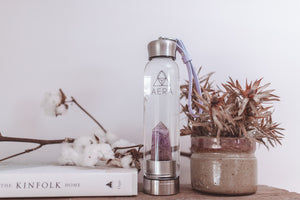 amethyst crystal water bottle australia
