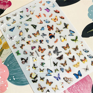 Butterfly Nail Stickers No.3