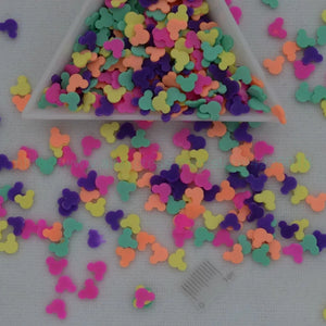 Fimo Colorful Mouse Slices