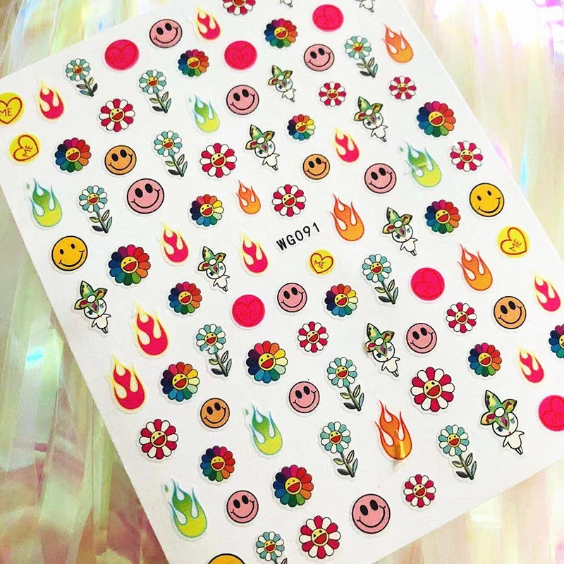 Takashi Nail Stickers No.1
