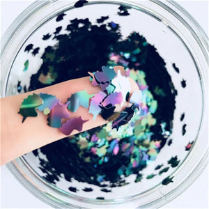 Oil Spill Unicorn Nail Glitter