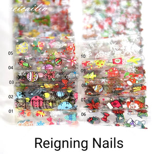Christmas Nail Foil Set No.1