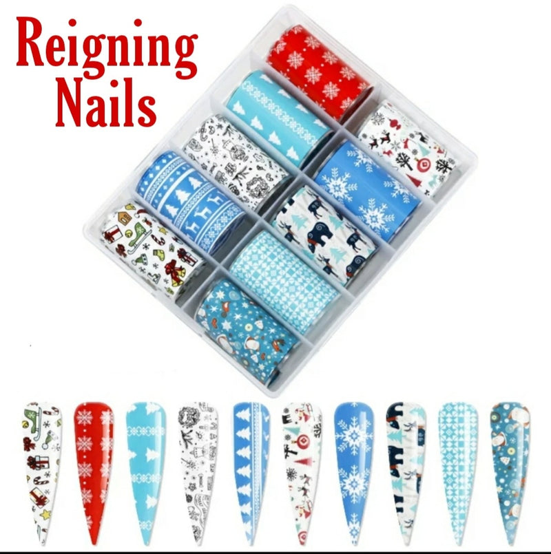 Christmas Nail Foil Set No.2