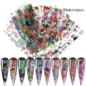 Halloween Nail Foil Bundle No.1