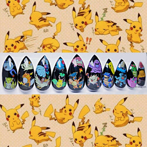 Pokemon Nails