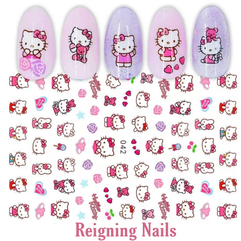 Hello Kitty Nail Stickers No.2