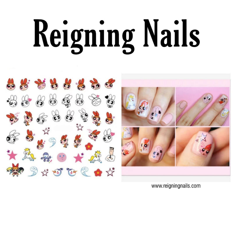 Blossom Nail Decals