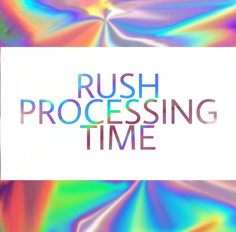 Rush Nail Set Processing Time