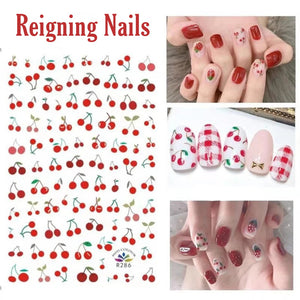 Cherry Nail Stickers