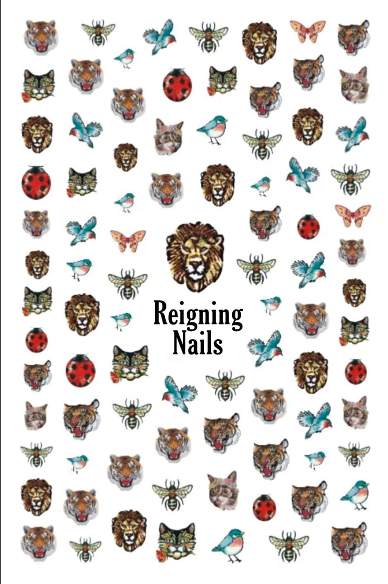 Wild Kingdom Nail Stickers