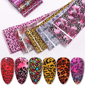 Animal Nail Foil Bundle No.5