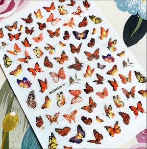 Butterfly Nail Stickers No.4