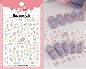 Dream Anime Nail Stickers