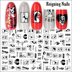 Lingerie Nail Stickers No.2