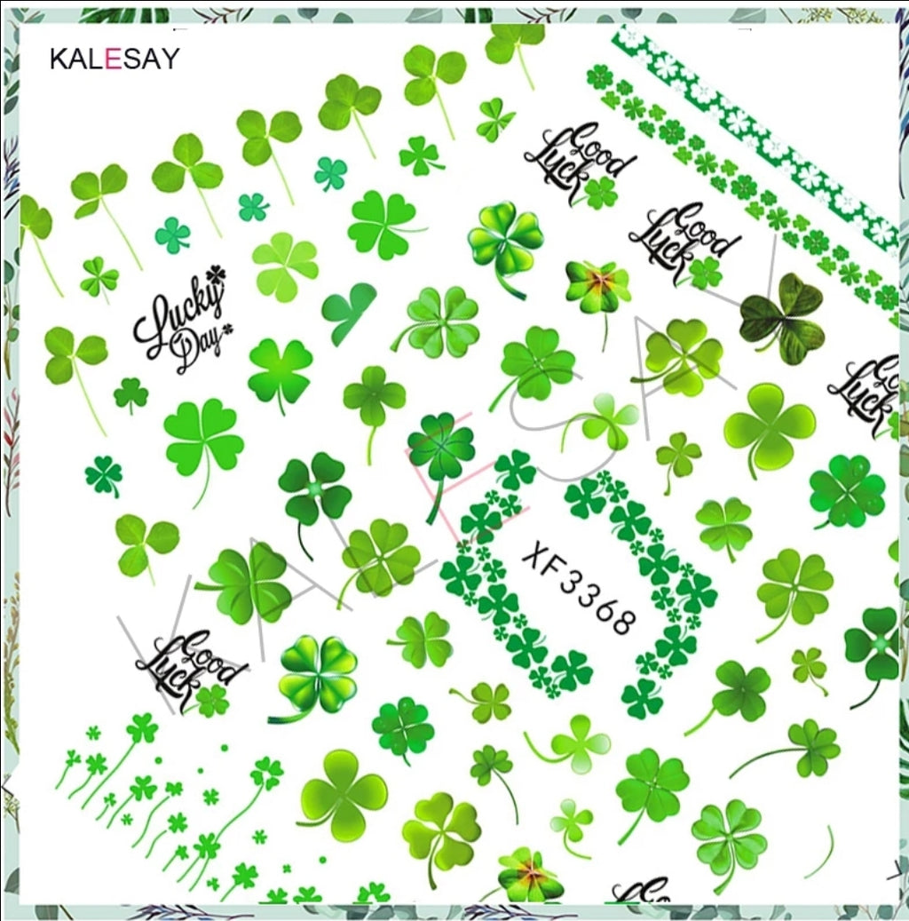 St. Patricks Day Nail Stickers