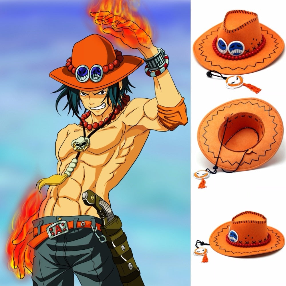 One Piece Ace Hat
