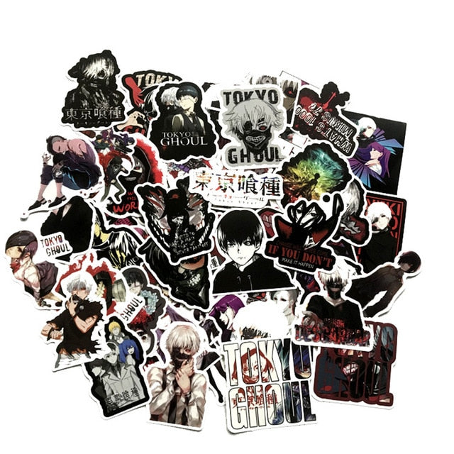 50 Piece Tokyo Ghoul Stickers