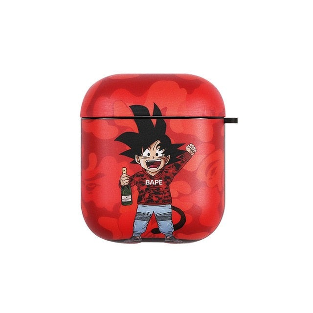 Goku Wireless Earphone Case Style 2