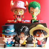 Assorted One Piece Figurines