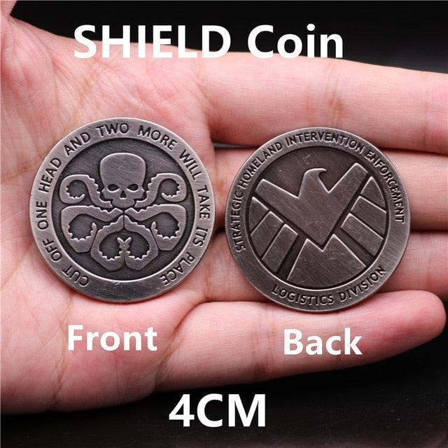 Marvel Hydra and Shield Custom Collectible Coin