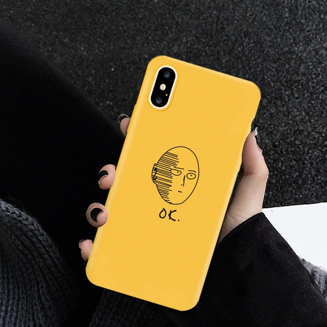 One Punch Man OK iPhone Case (iPhone 6-X, XS/Max)