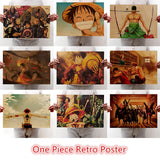 Retro One Piece Posters