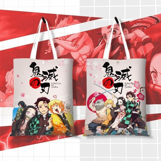 Demon Slayer Tote Bags