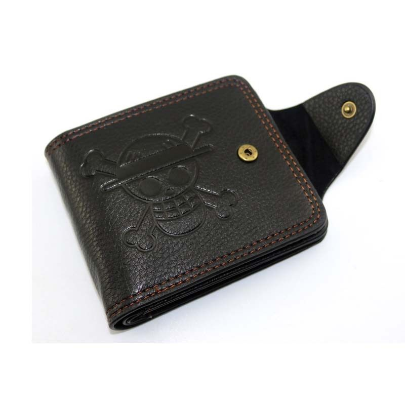 One Piece Straw Hat Wallet