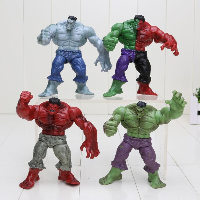 4pcs/set 12cm Hulk Collectible Figures