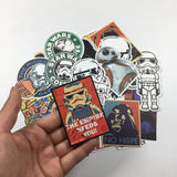 Assorted Specialty Star Wars Stickers (25 Pieces)