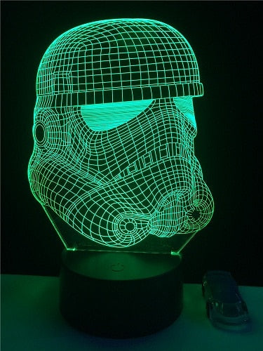 Star Wars LED Light Display