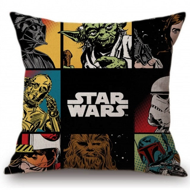 Star Wars Galaxy Pillow