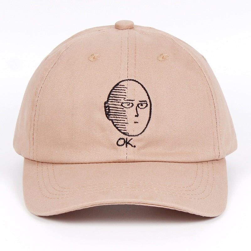One Punch Man Hat (Khaki)