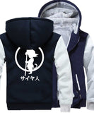 The Power of the Dragon Hoodie (Dark Blue/Light Grey)