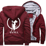 The Power of the Dragon Hoodie (Maroon/White)