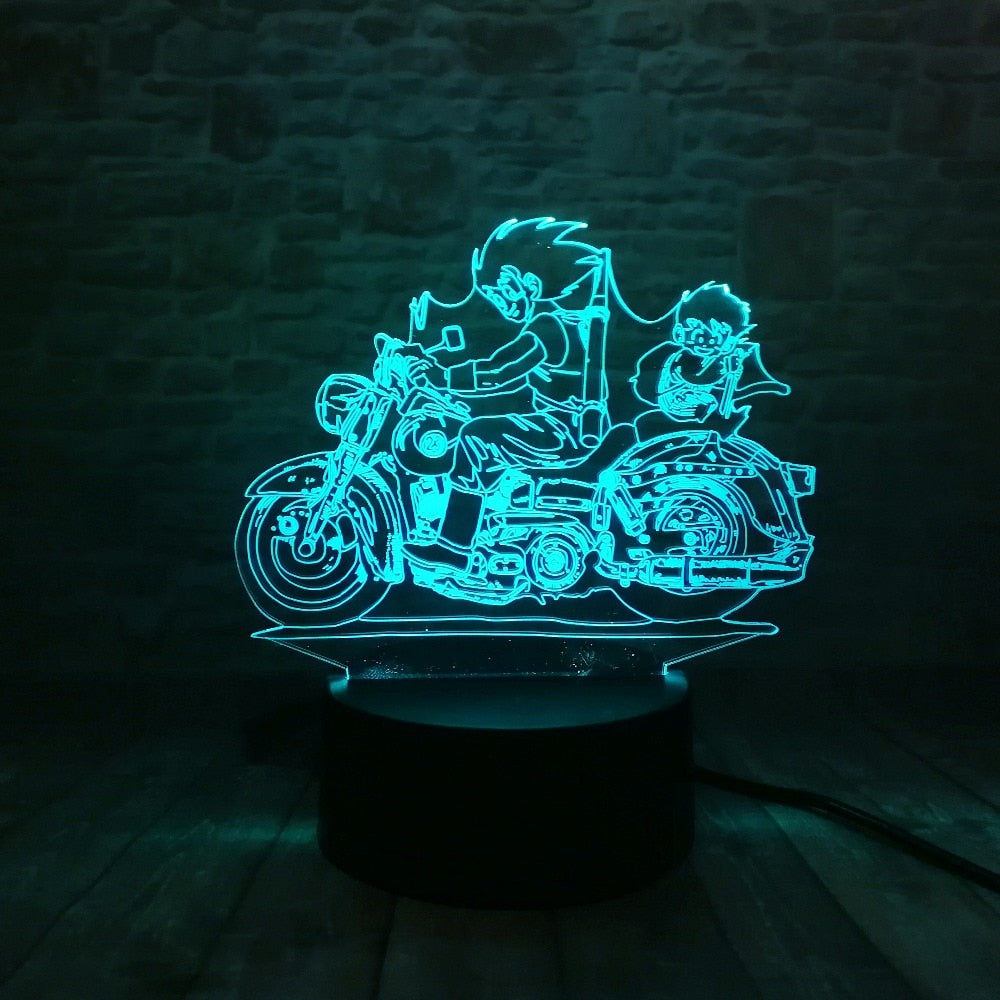 Goku and Gohan LED Lamp