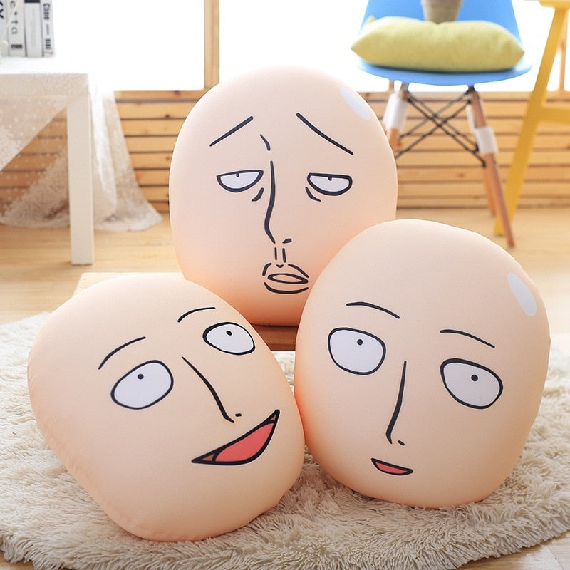 Saitama Face Pillows