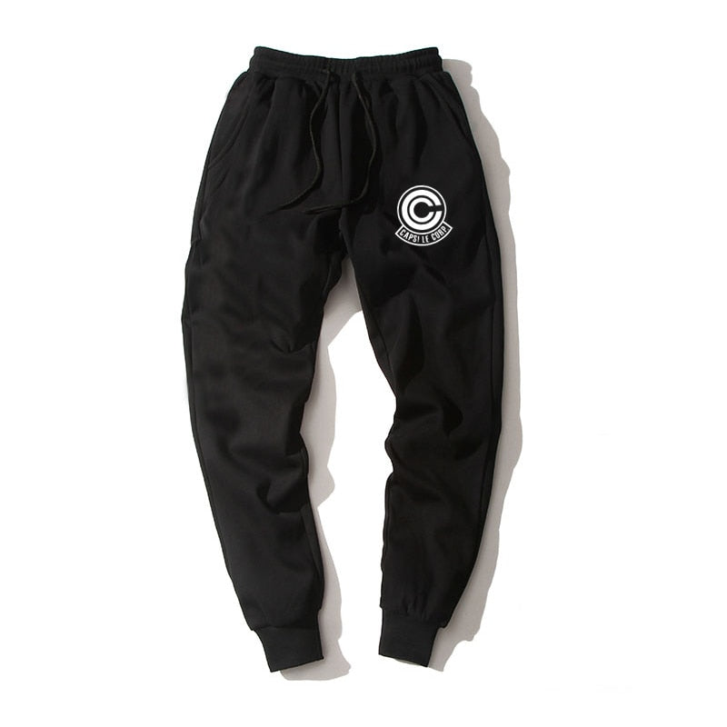 Capsule Corp Joggers (Black)