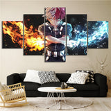 Fire and Ice Canvas Painting