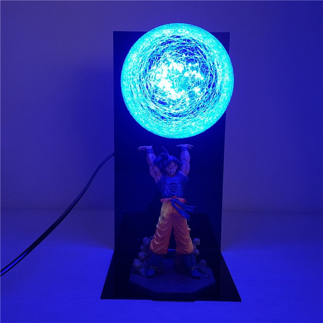 Spirit Bomb Goku LED Lamp