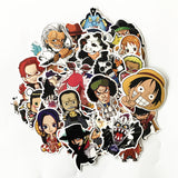 61 Pcs One Piece Speciality Stickers