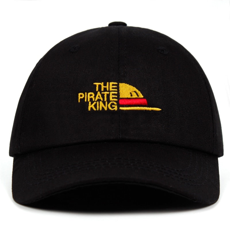 One Piece Pirate King Hat (Black)